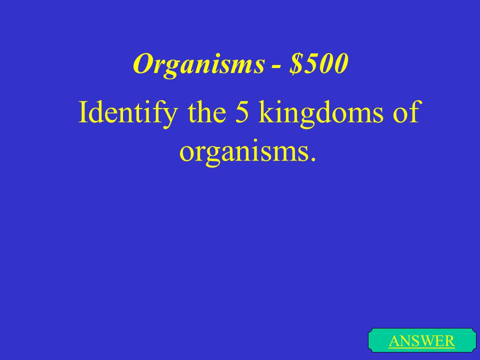 Organisms - $400 ANSWER I come in rod, spherical, or spiral shapes.