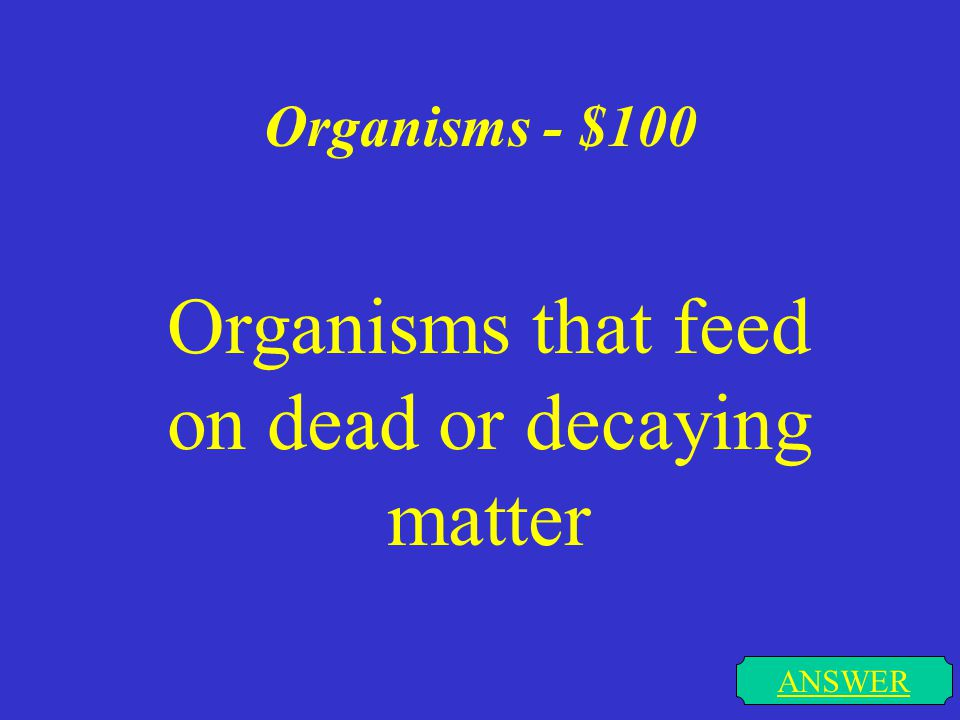 Organelles - $500 ANSWER The organelle that converts food to usable energy for the cell
