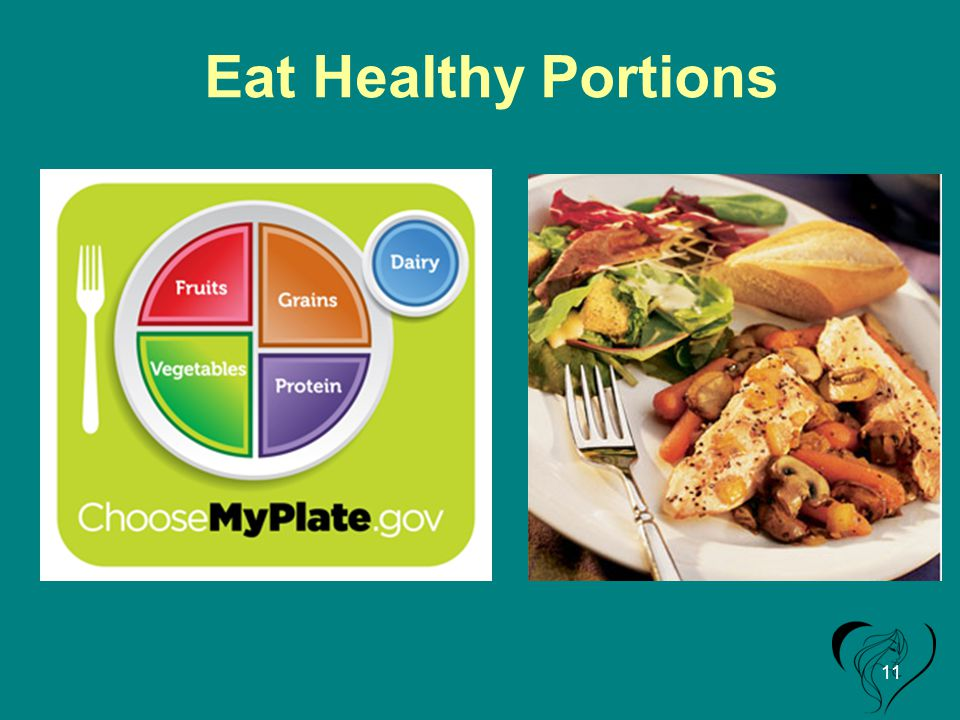 Eat Healthy Portions 11