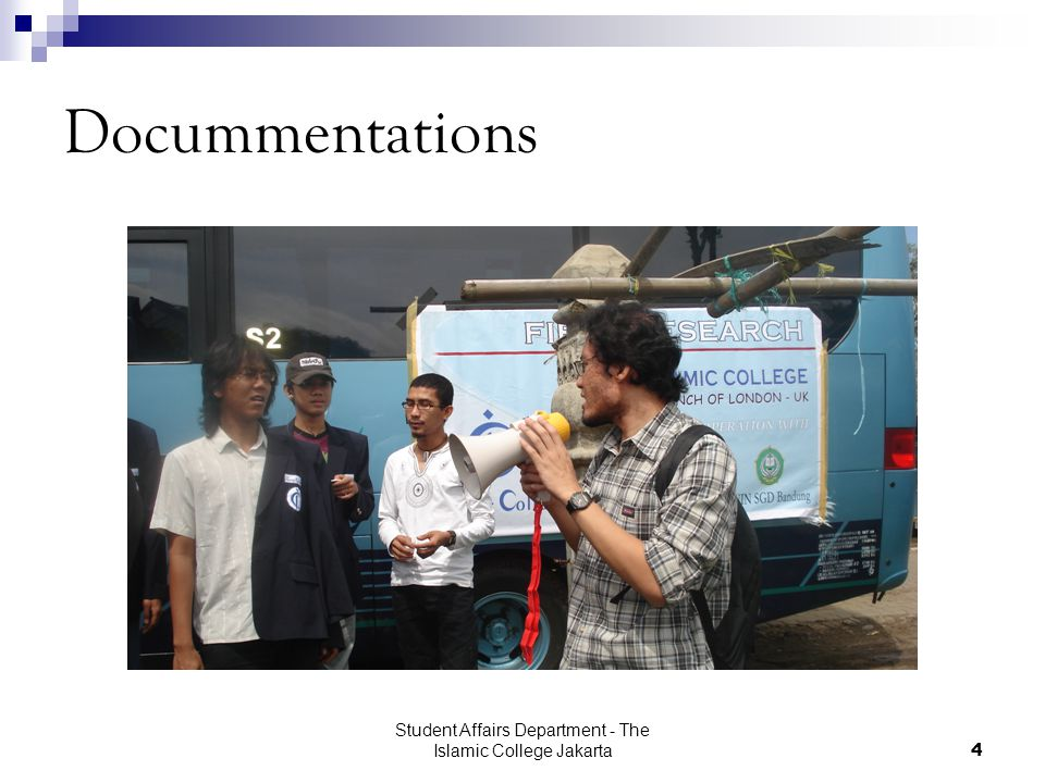 Student Affairs Department - The Islamic College Jakarta4 Docummentations