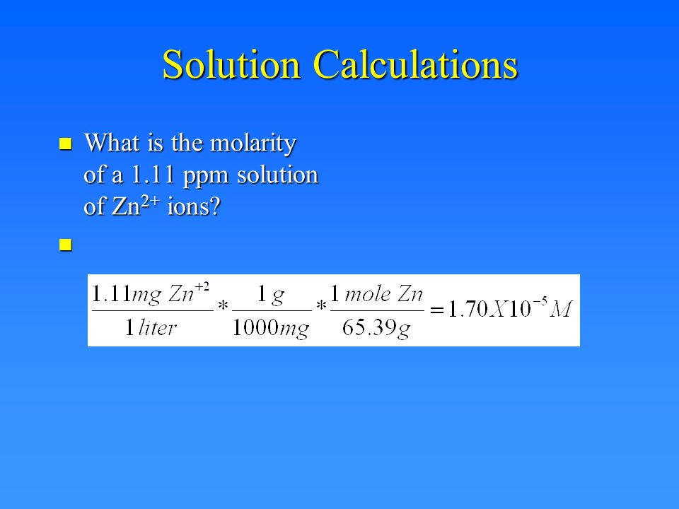 Dimensional Analysis What is the molarity of concentrated HCl.