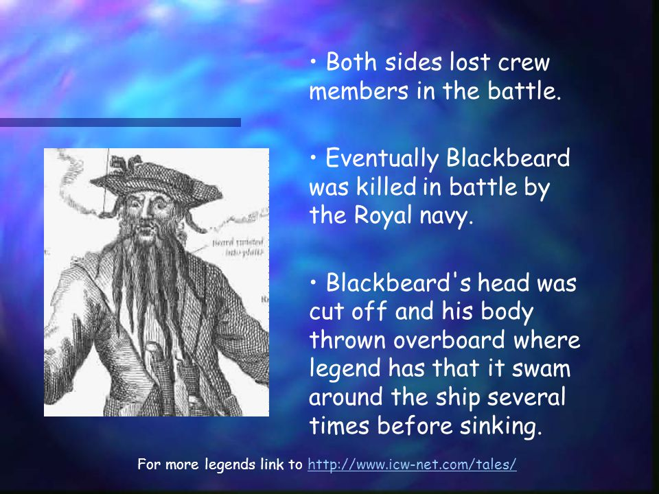 Both sides lost crew members in the battle.