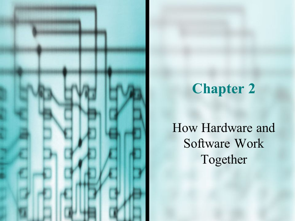 Chapter 2 How Hardware and Software Work Together