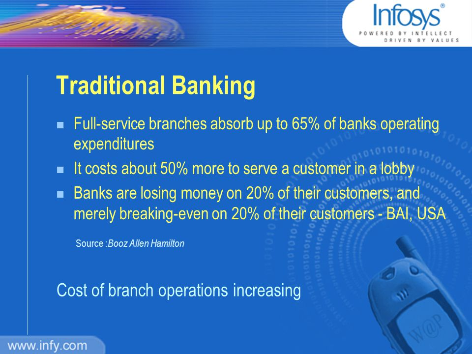 Agenda n Traditional Banking n Towards M-Banking: What part of it is REAL.