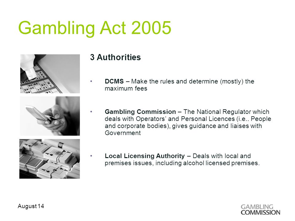 Gambling commission licence fees gambler vs