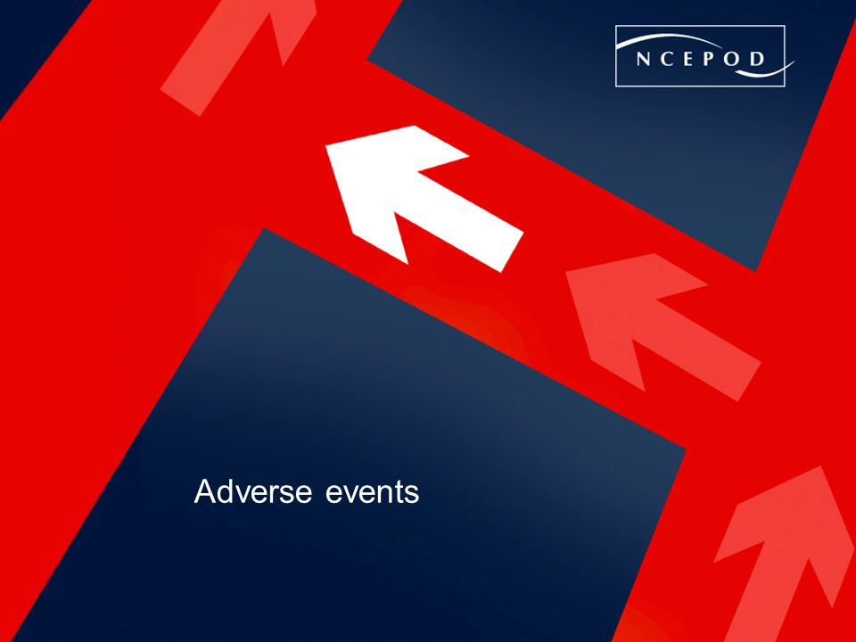 Adverse events