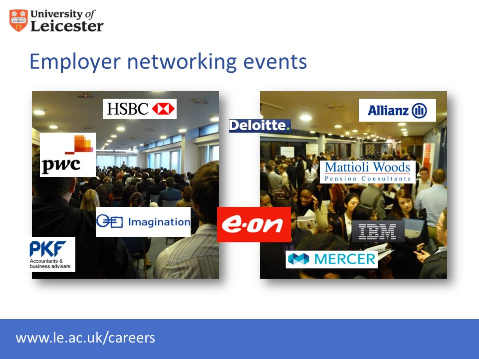 Employer networking events
