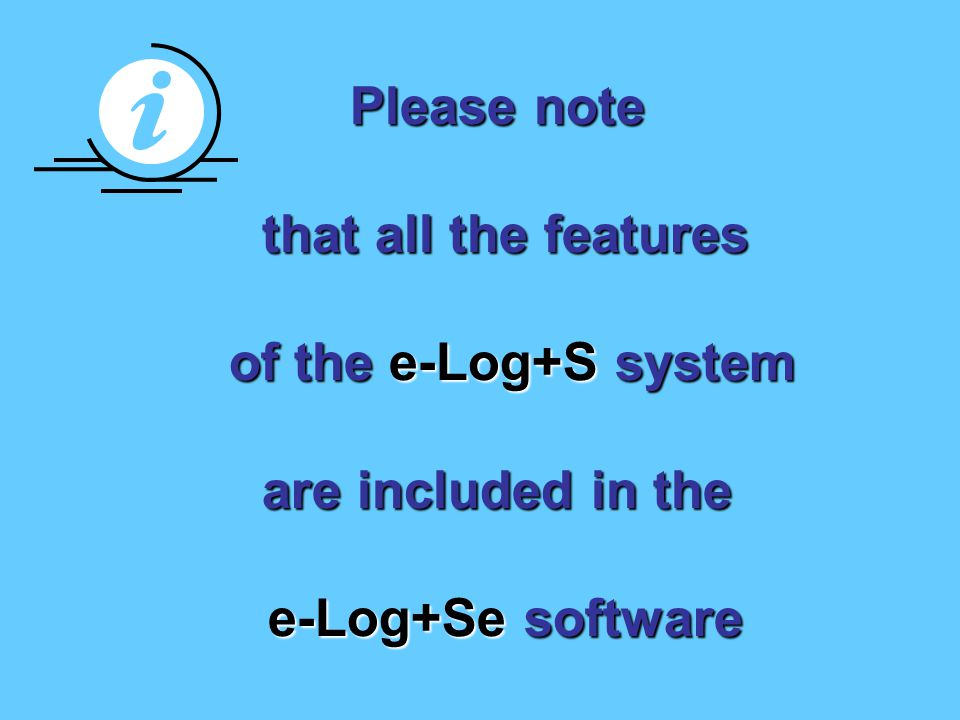 e-Log+Se is an additional module to the e-Log+S staff rostering software.