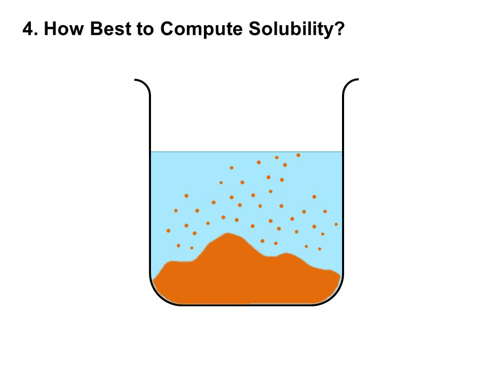 4. How Best to Compute Solubility