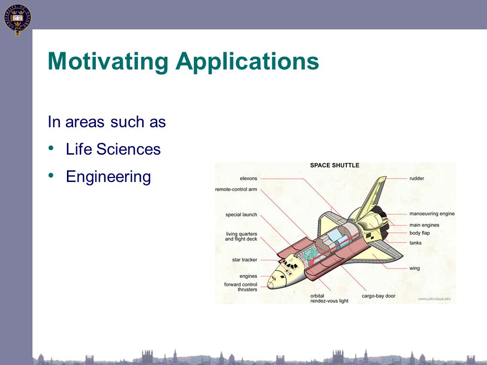 In areas such as Life Sciences Engineering Motivating Applications