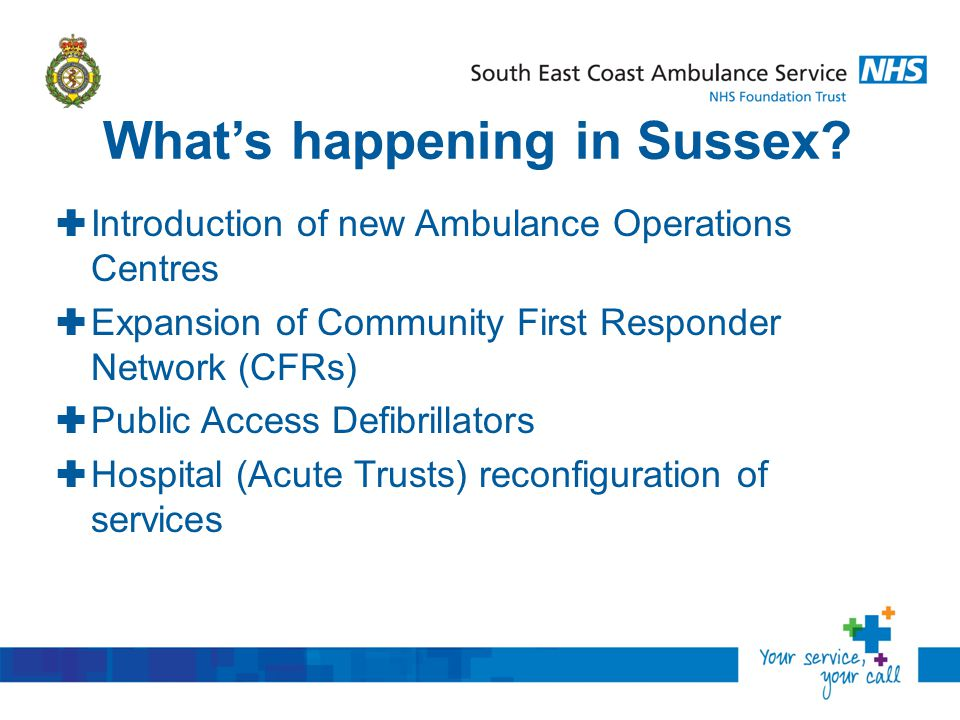 What's happening in Sussex.