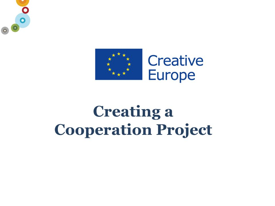 Creating a Cooperation Project