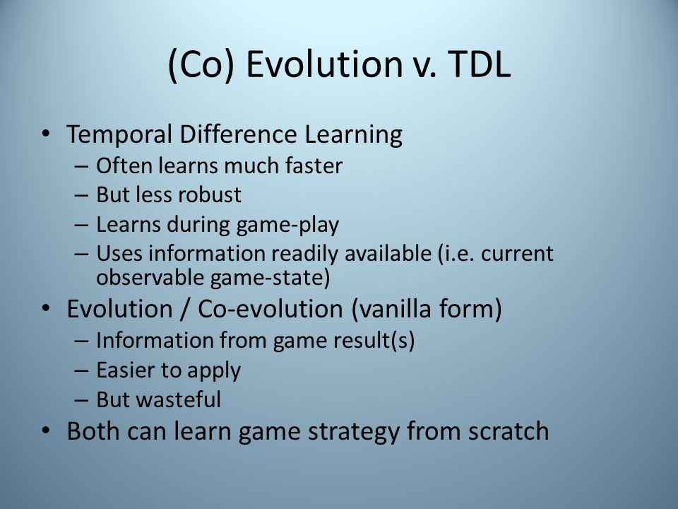 (Co) Evolution v.