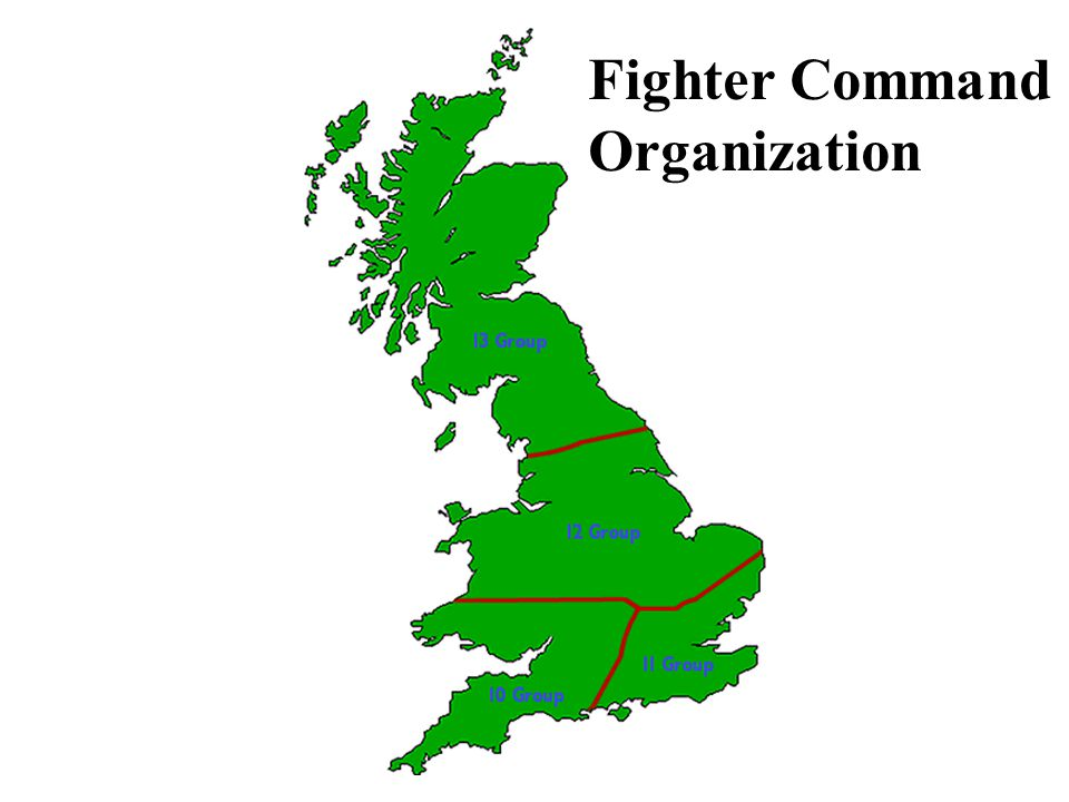 Fighter Command Organization