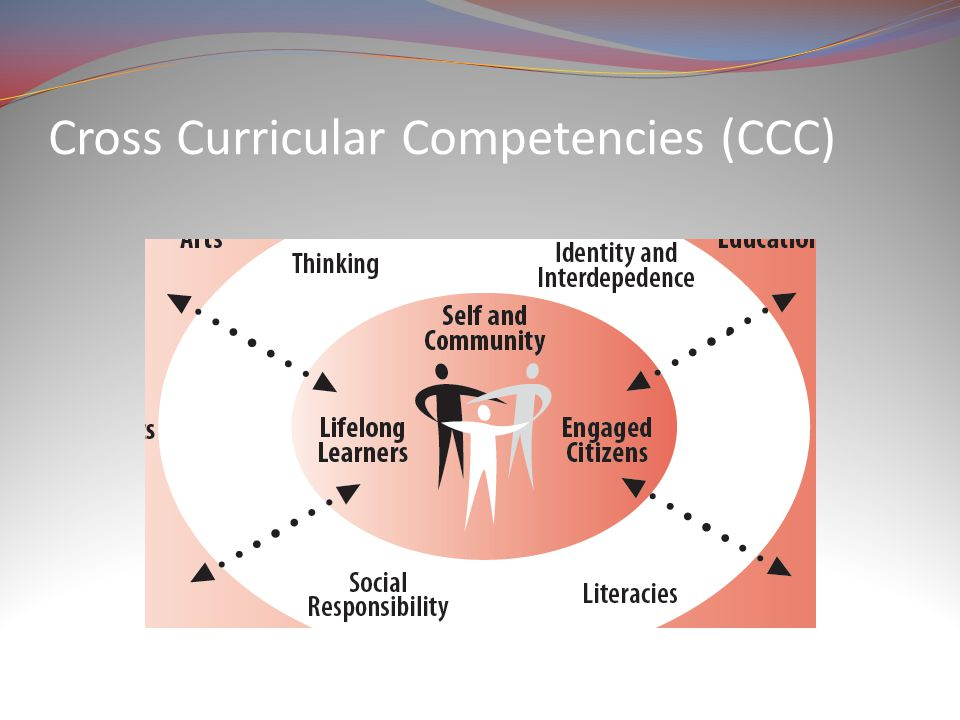 Cross Curricular Competencies (CCC)