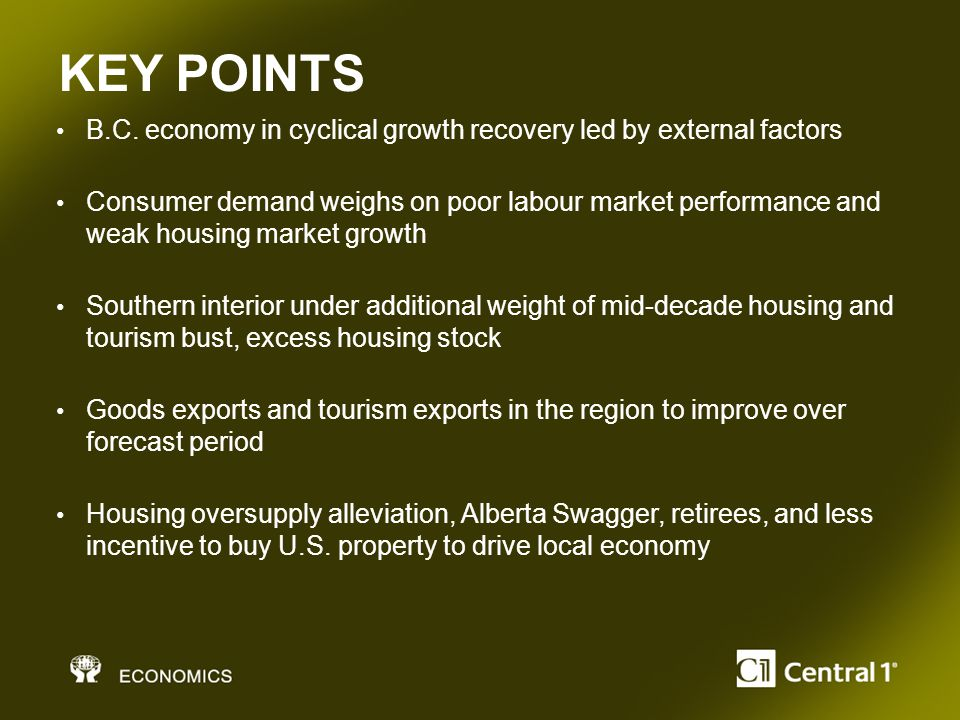 KEY POINTS B.C.