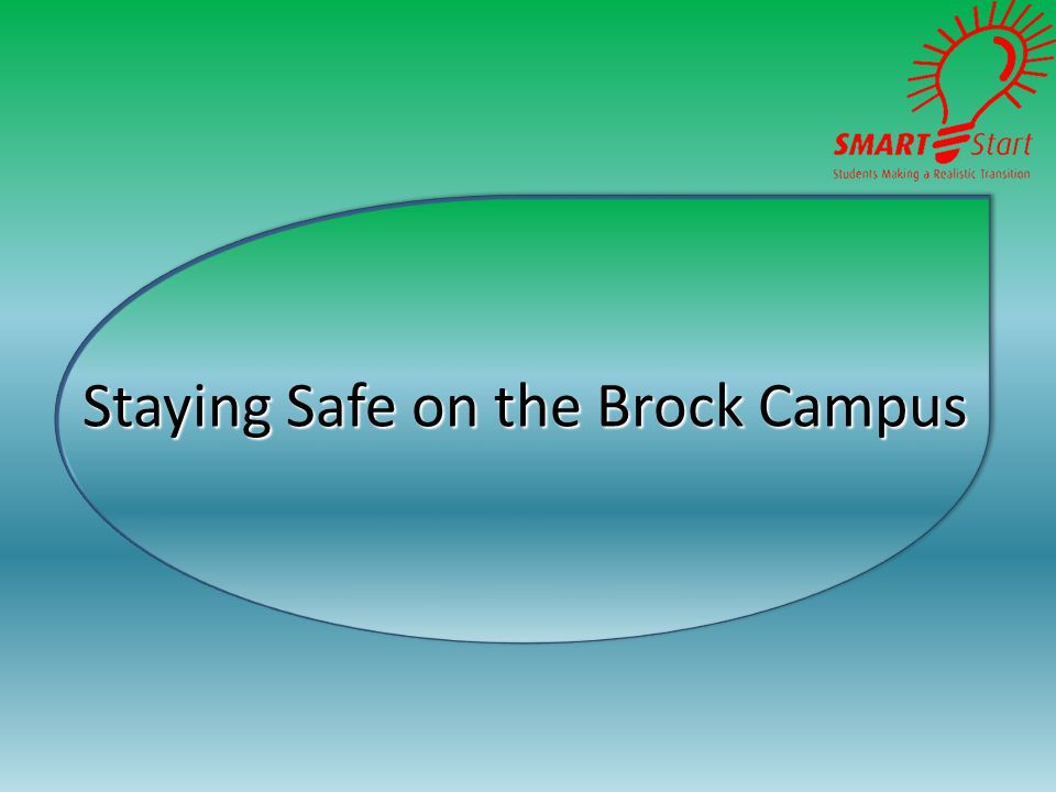 Staying Safe on the Brock Campus