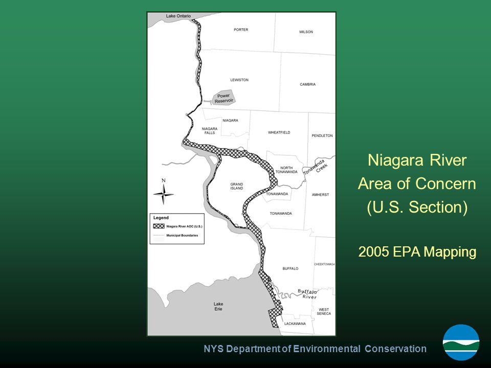 NYS Department of Environmental Conservation Niagara River Area of Concern (U.S.