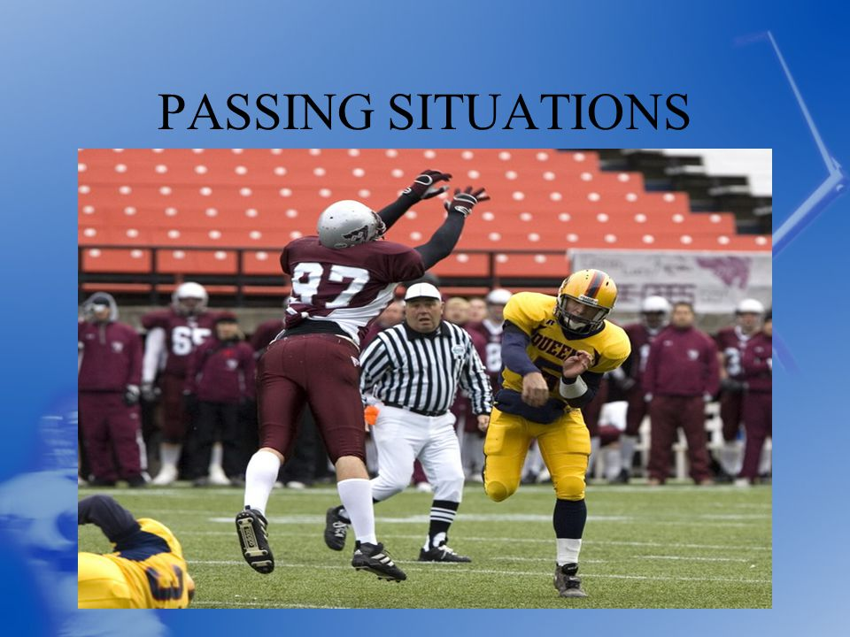 PASSING SITUATIONS