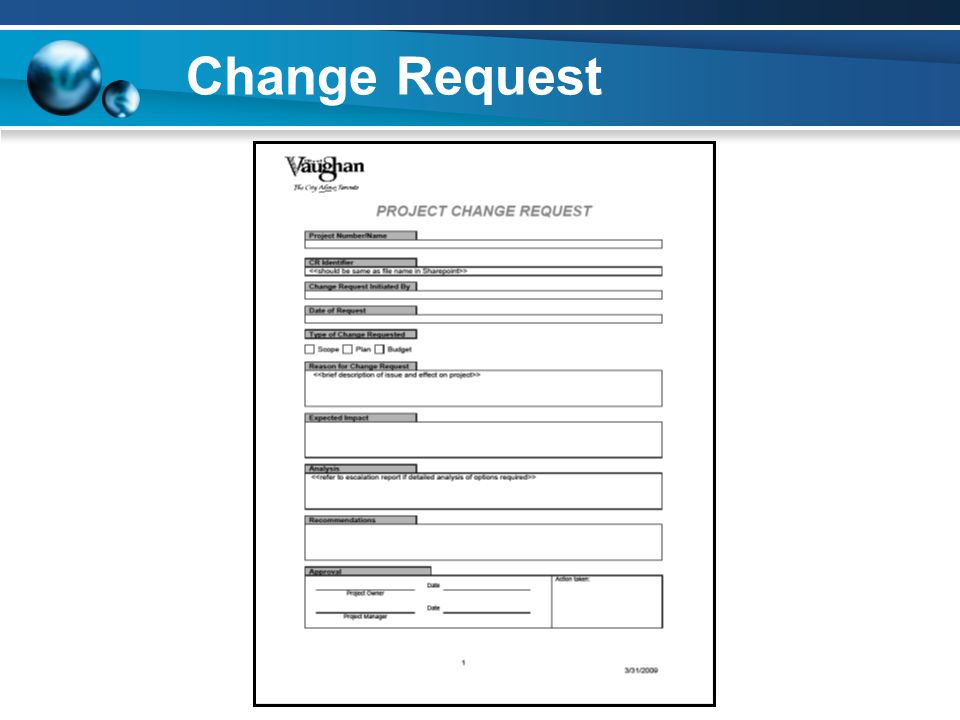 Change Request