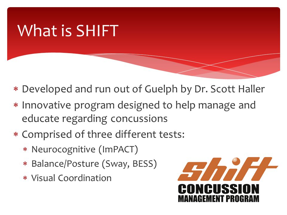  Developed and run out of Guelph by Dr.