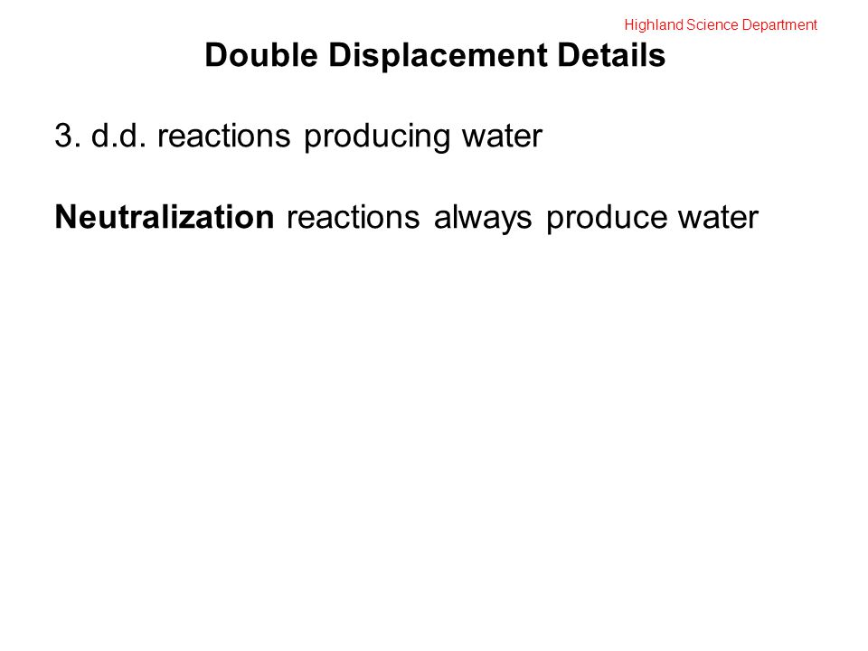 Highland Science Department Double Displacement Details 3.