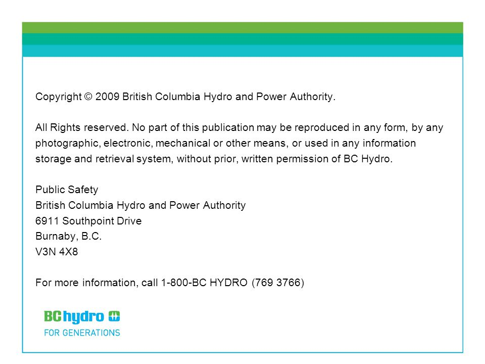 bc hydro and power authority