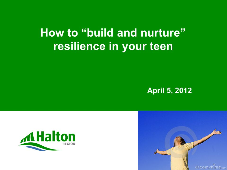 How to build and nurture resilience in your teen April 5, 2012