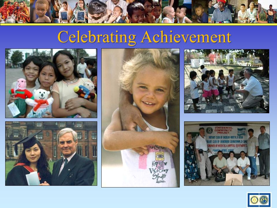 Celebrating Achievement