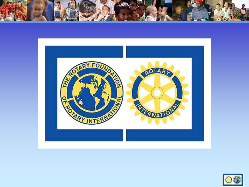 You are the Spirit of Rotary TODAY and the Legacy of Rotary TOMORROW