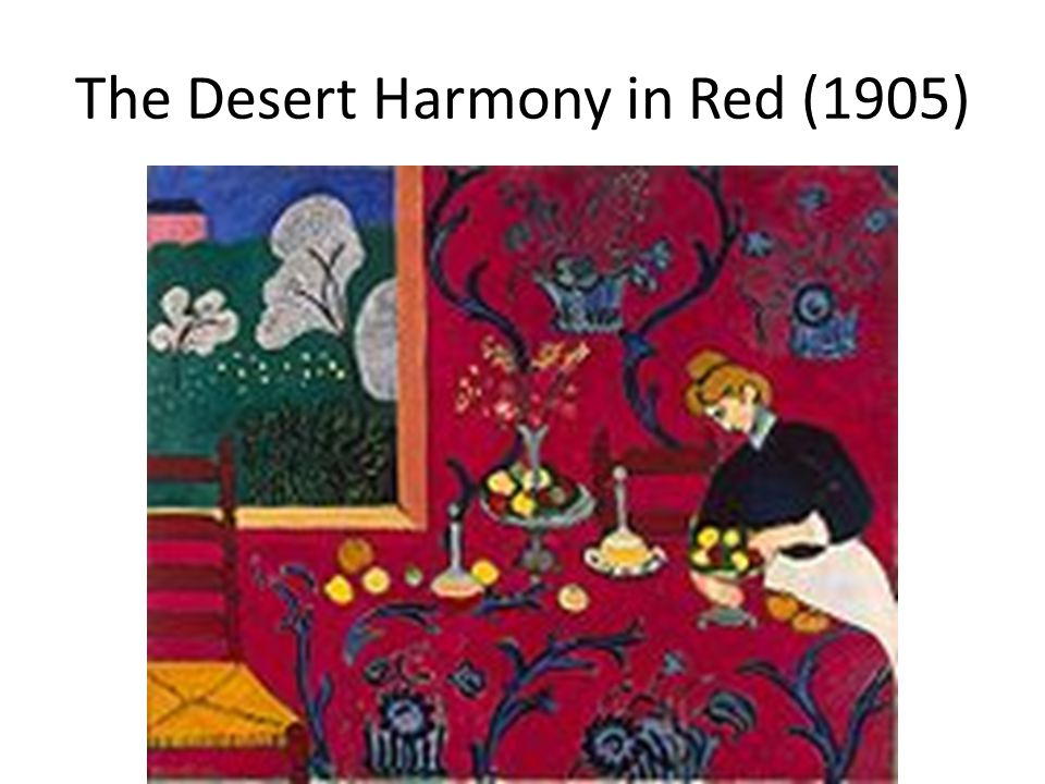 The Desert Harmony in Red (1905)