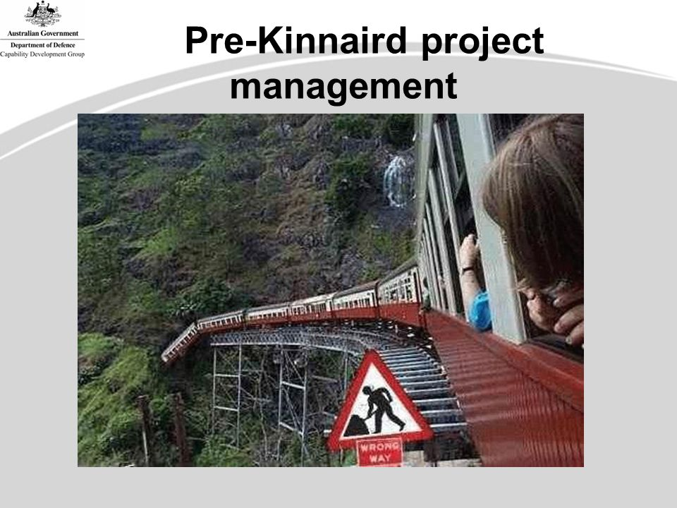 Pre-Kinnaird project management