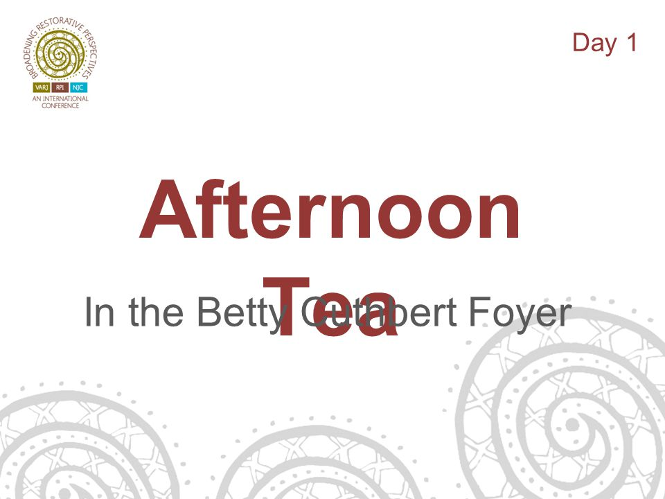 14/06/13 Afternoon Tea In the Betty Cuthbert Foyer Day 1