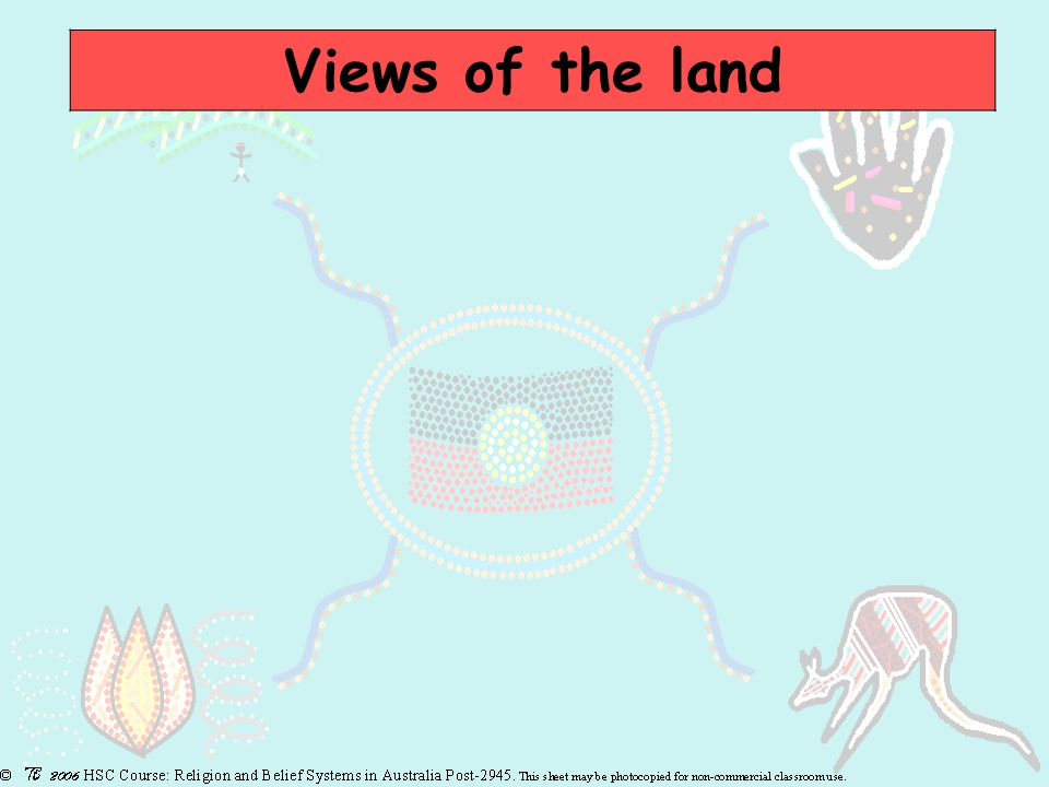 Views of the land