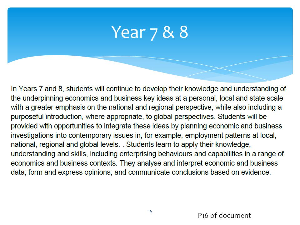 Year 7 & 8 P16 of document 19