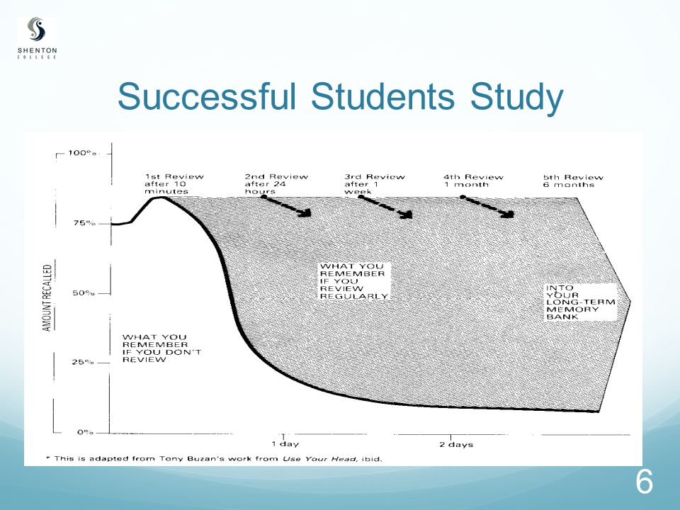 6 Successful Students Study