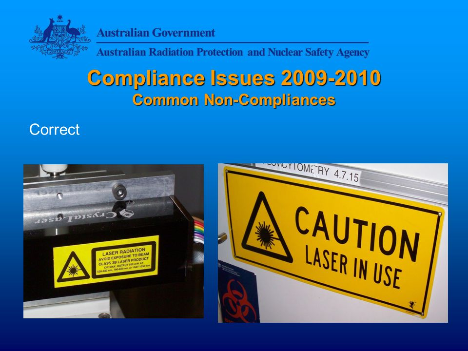 Compliance Issues Common Non-Compliances Correct