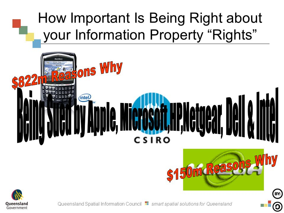 Queensland Spatial Information Council smart spatial solutions for Queensland How Important Is Being Right about your Information Property Rights