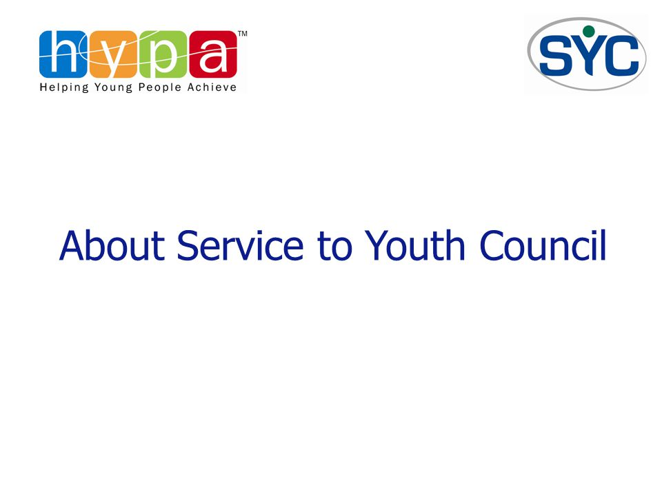 About Service to Youth Council