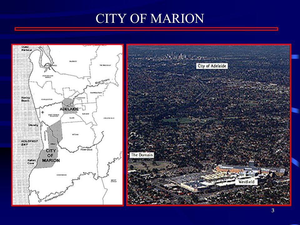 3 CITY OF MARION
