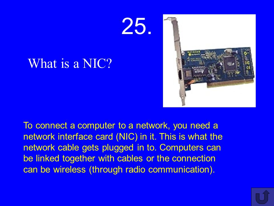 24. What is a computer network.