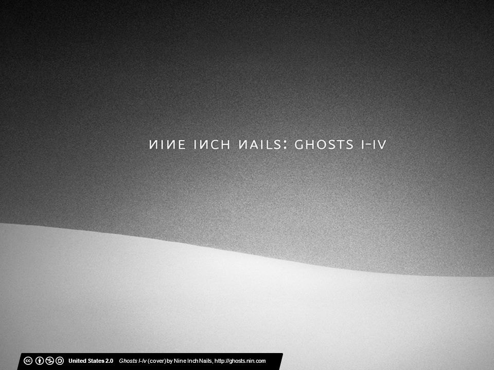 United States 2.0 Ghosts I-Iv (cover) by Nine Inch Nails, http://ghosts.nin.com