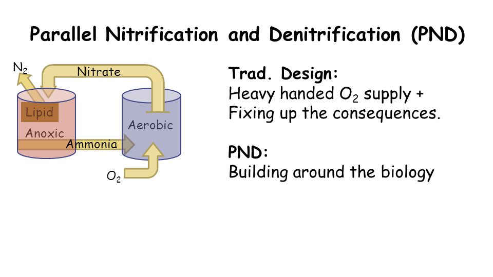 Parallel Nitrification and Denitrification (PND) Trad.