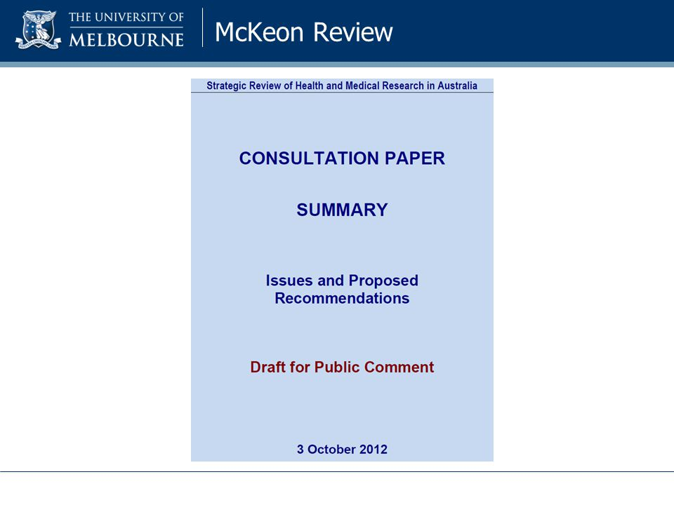 McKeon Review