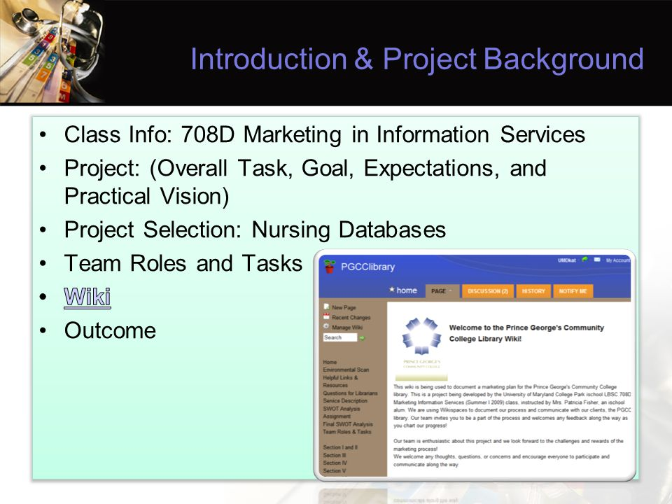 Introduction & Project Background