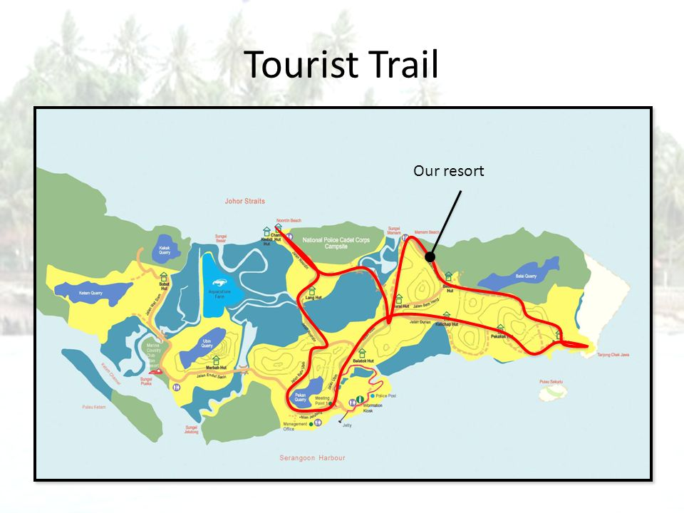 Tourist Trail Our resort