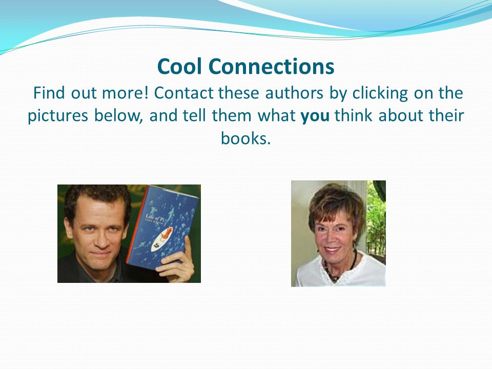Cool Connections Find out more.