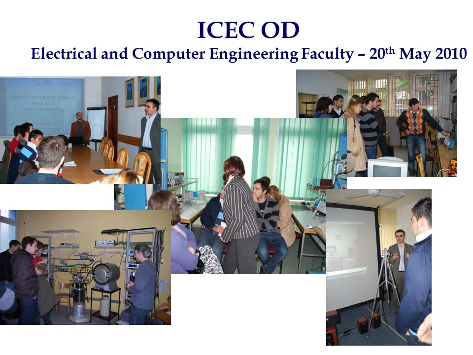 ICEC OD Electrical and Computer Engineering Faculty – 20 th May 2010