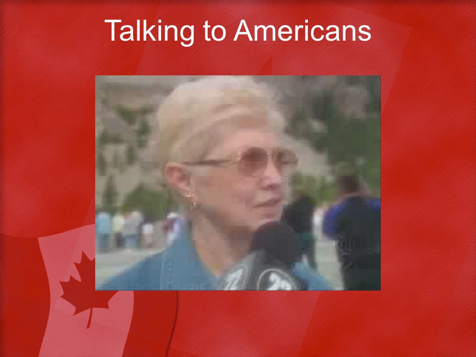 Talking to Americans
