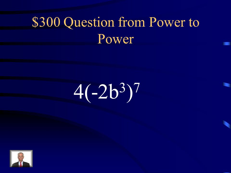 $200 Answer from Power to Power 1